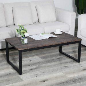 Salontafel op maat houten tafelblad
